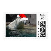 Christmas Polar Bears Postage