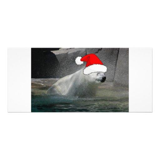 Christmas Polar Bears Rack Cards