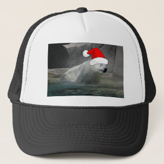 Christmas Polar Bears Trucker Hat