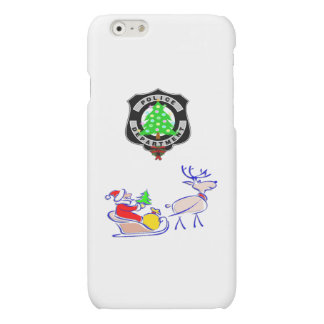 Christmas Police Gifts Matte iPhone 6 Case