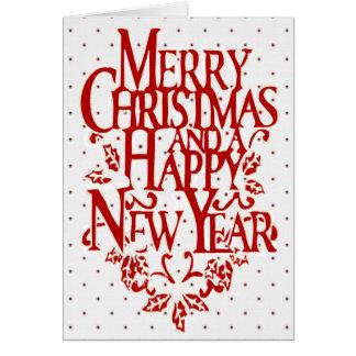 Christmas Polka Dot Card