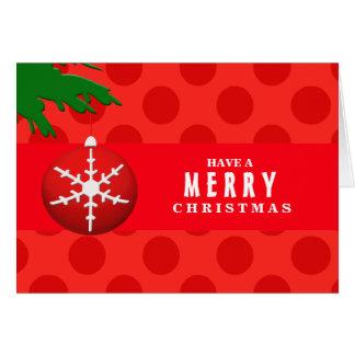 Christmas Polka Dots Cards