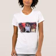 Christmas - Pomeranian - Bella T Shirt