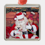 Christmas - Pomeranian - Toby & Andy Christmas Ornament