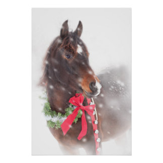 Christmas Pony Print