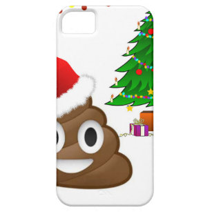 christmas poo emoji iphone se55s case