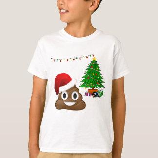 christmas poo emoji T-Shirt