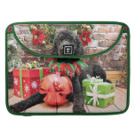Christmas - Poodle - Beamer Sleeve For MacBook Pro