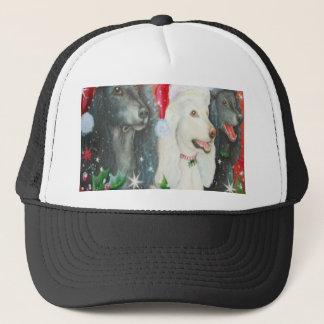 Christmas Poodles Trucker Hat