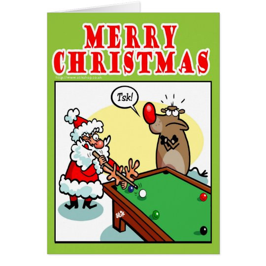 Christmas Pool Card