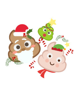 Emoji Christmas Postcards - No Minimum Quantity | Zazzle