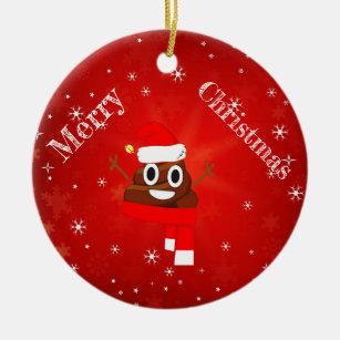 Personalized Braces Emoji Christmas Ornament Emoji #3