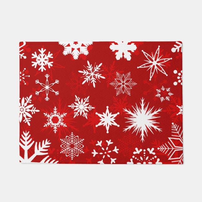 Christmas porch decor doormat
