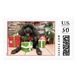 Christmas - Portuguese Water Dog - Yanda Postage