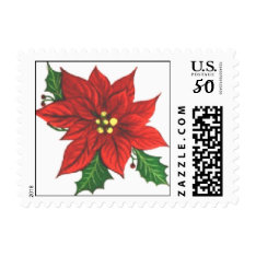 Christmas Postage Stamps at Zazzle