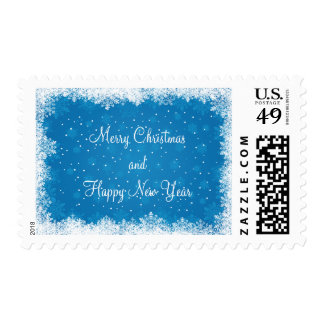 Christmas Postage Stamps/Snowflakes