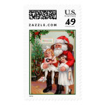 Christmas Postage Stamps - With Matching Cards
