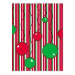 Christmas Postcard: Modern Pizazz