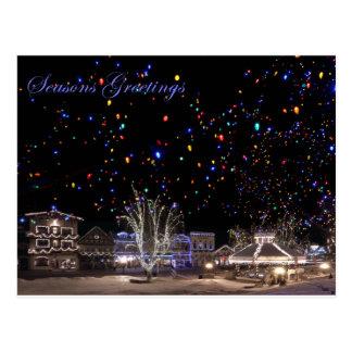 Christmas Postcards:  'Northern Lights'