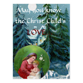 Christmas Prayer Postcard