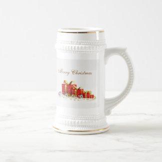 Christmas Present Beer Mug