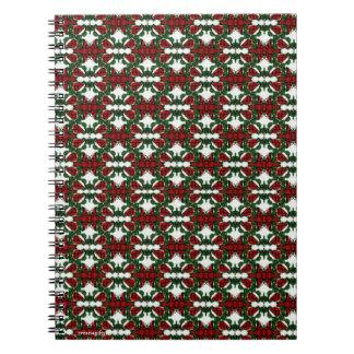 Christmas Present Pattern Notebook