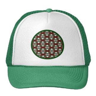 Christmas Present Pattern Trucker Hat