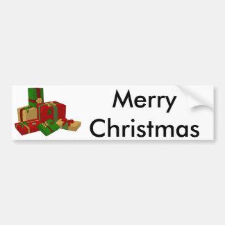 Christmas Presents Bumper Sticker