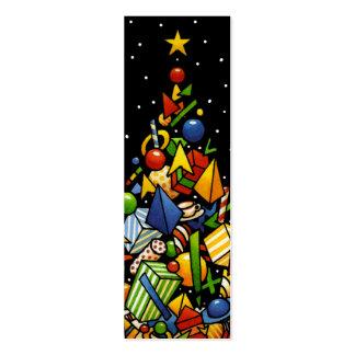 Christmas Presents Mini Business Card