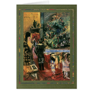 Christmas Presents, Painting by Lovis Corinth 1913 Card