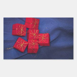 Christmas Presents Rectangular Sticker