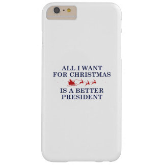 Christmas President Barely There iPhone 6 Plus Case