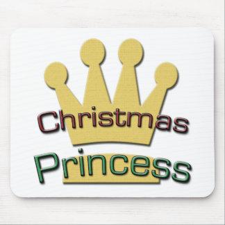 Christmas Princess Mouse Pad