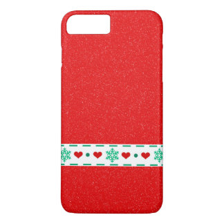 Christmas print iPhone 8 plus/7 plus case