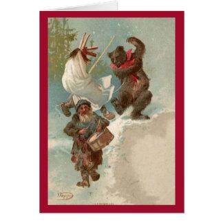 Christmas Procession Card