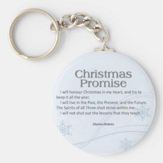 Christmas Promise Keychain