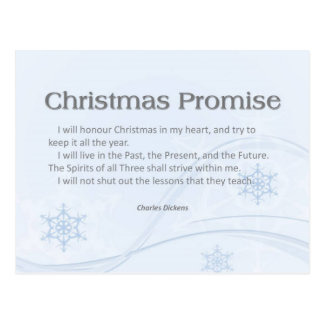 Christmas Promise Postcards