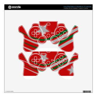 Christmas PS3 Controller Skin