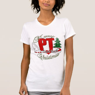 CHRISTMAS PT Physical Therapist T-Shirt