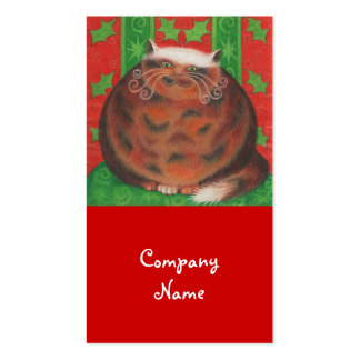 Christmas Pud business card template