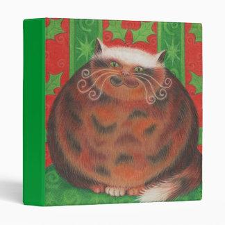 Christmas Pud custom binder