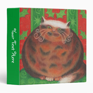 Christmas Pud 'Your Text' binder