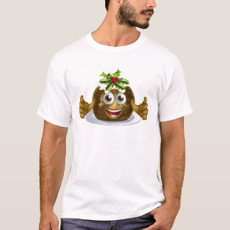 Christmas Pudding Cake Man T-Shirt