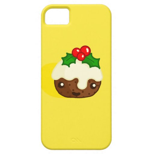 Christmas Pudding Cover For iPhone 5/5S