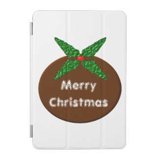 Christmas Pudding Custom iPad Mini Cover