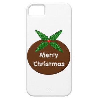 Christmas Pudding Customizable iPhone 5 Case