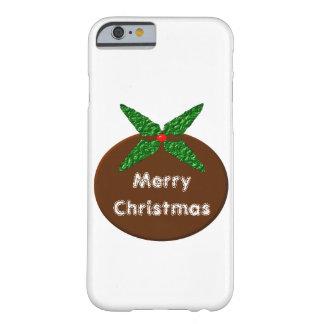 Christmas Pudding Customizable iPhone Case