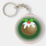 Christmas Pudding Keychain