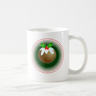 Christmas Pudding Classic White Coffee Mug