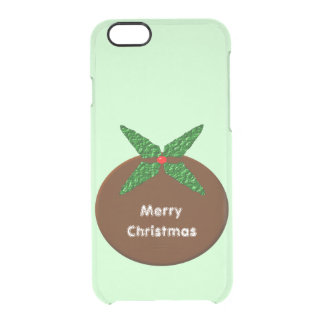 Christmas Pudding Personalized iPhone Case
